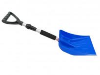 Лопата за сняг с телескопична дръжка Petex 77 см / 102 см  синя