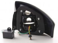 Тунинг LED стопове за Audi A6 1997-2004 изцяло опушени