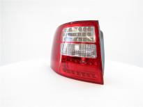 Тунинг LED стопове за Audi A6 комби 1997-2004 с бял мигач