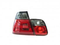 Тунинг LED стопове за BMW серия 3 Е46 2001-2005 седан с опушен мигач
