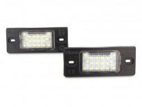 LED плафони за регистрационен номер за Audi TT/TT Roadster / Volkswagen Golf V/Passat/Touareg/Tiguan / Porsche Cayenne/Cayenne S