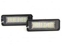 LED плафони за регистрационен номер за Volkswagen EOS/Golf IV/Golf V/Lupo/New Bittle/Polo/Passat B6/Passat CC/Phaeton