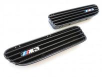 Черни решетки за калниците тип M3 за BMW серия 3 E46 1998-2006 всички версии