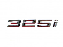 Емблема 325i Хром