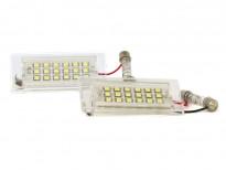 LED плафони за регистрационен номер за BMW X3 E83 2003-2010 / X5 E53 1999-2006