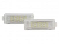 LED плафони за осветление под вратите за BMW E81/E82/E87/E88/F20/E90/E91/E92/E93/F30/E60/E61/F10/F11/E63/E64/F01/E84/E83/F25/E70/E71/E85/E86 / MINI R50/R52/R53/R55/R57/R60