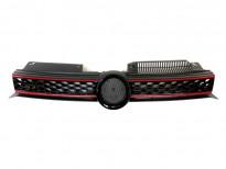 Черна решетка GTI тип пчелна пита за VW Golf VI GTI 2008 =>