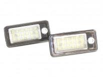 LED плафони за регистрационен номер за Audi A3/A4/A5/A6/Q7