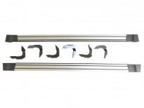 Алуминиеви степенки за Nissan Navara D40 2010=> Двойна кабина