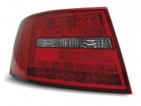 Тунинг LED стопове за Audi A6 C6 04.2004-2008 седан, версия без фабрични led стопове (букса с 6 пина)
