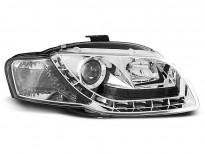 Тунинг фарове с LED светлини за Audi A4 B7 11.2004-03.2008 седан/комби/кабрио