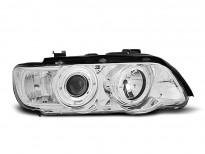 Тунинг фарове с халогенни ангелски очи за BMW X5 E53 09.1999-10.2003