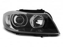 Тунинг фарове с LED ангелски очи за BMW 3 E90/E91 03.2005-08.2008