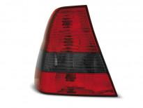 Тунинг стопове за BMW E46 06.2001-12.2004 компакт с червена и опушена основа