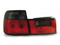 Тунинг стопове за BMW E34 02.1988-12.1995 седан с червена и опушена основа