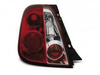 Тунинг стопове за Fiat 500 2007 - с червена и бяла основа