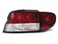 Тунинг стопове за Ford ESCORT MK6/7 1993-2000 седан, хечбек, кабрио с червена и бяла основа