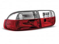 Тунинг стопове за Honda CIVIC 09.1991-08.1995 седан/купе с червена и бяла основа