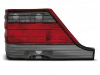 Тунинг стопове за Mercedes W140 1995-10.1998 с червена и опушена основа