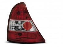 Тунинг стопове за Renault CLIO 3 09.2005-04.2009 3/5 врати с червена и бяла основа