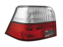 Тунинг стопове за Volkswagen GOLF 4 09.1997-09.2003 хечбек с червена и бяла основа