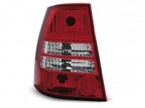 Тунинг стопове за Volkswagen GOLF 4 / BORA 1999-2006 комби с червена и бяла основа