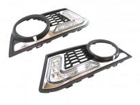 Специфични дневни светлини за BMW серия 5 F10 седан/F11 комби 2010 => с предна М техник броня