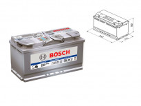 Акумулатор BOSCH AGM-technology S6 12V 95Ah 850 A с десен (+)
