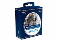 Комплект 2 броя халогенни крушки Philips H4 Racing Vision12V, 55W, PX26d
