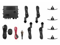 Парктроник система OEM със звукова сигнализация с 4 черни датчика