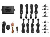 Парктроник система OEM със звукова сигнализация с 8 черни датчика