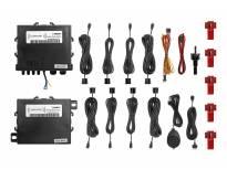 Парктроник система Parkmatic със звукова сигнализация с 8 датчика черни