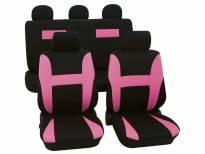 Тапицерия за седалки Petex Eco-Class модел Neon от 11 части, розова