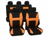 Тапицерия за седалки Petex Eco-Class модел Neon от 11 части, оранжева