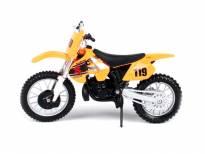 Играчка мотор Maisto Special Edition Suzuki RM250 в мащаб 1:18