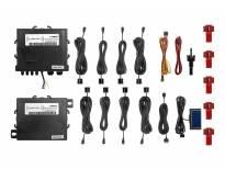Парктроник система Parkmatic с LCD дисплей с 8 датчика черни