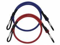 Ластични въжета Petex с карабинери 2 броя