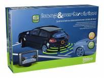 Парктроник система Valeo Beep&Park/Vision™ с индикационен дисплей с 4 черни датчика