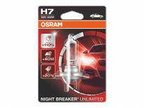 Халогенна крушка Osram H7 Night Breaker Unlimited 12V, 55W, PX26d, 1 брой