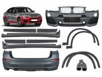M technik пакет за BMW X4 F26 2014-2018