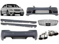 AMG пакет тип S65 за Mercerdes S класа W221 2006-2013 година дълга база