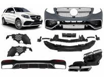 AMG пакет тип 63 за Mercedes GLE W166 след 2015 година