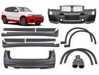 M technik пакет за BMW X3 F25 2014-2017