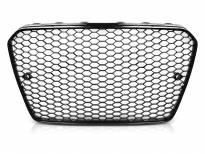 Черен лак решетка тип RS за Audi A5 2011-2016