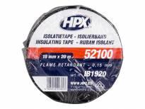 PVC изолационна лента HPX тип VDE 19mm/20m черна