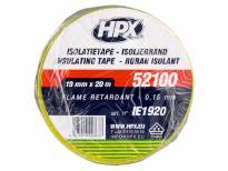 PVC изолационна лента HPX тип VDE 19mm/20m жълто-зелена