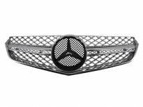 Хром/сива решетка тип AMG за Mercedes E класа купе C207 2009 =>