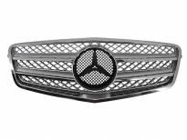 Хром/сива решетка тип AMG за Mercedes E класа W212 2009 =>