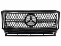 Хром/черна решетка тип AMG за Mercedes W463 1989 =>