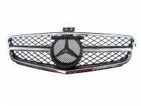 Хром/черна решетка тип AMG за Mercedes C класа W204 2007-2014